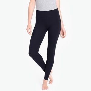 J. Crew black knit joggers leggings size 0